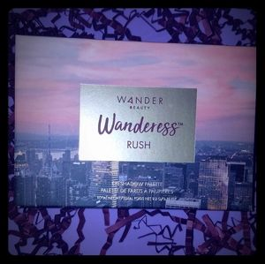NWT Wander Beauty Rush Eyeshadow Palette
